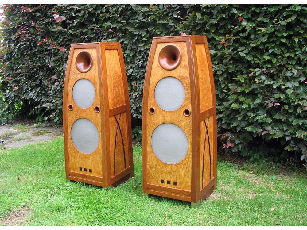 Art Deco speakers