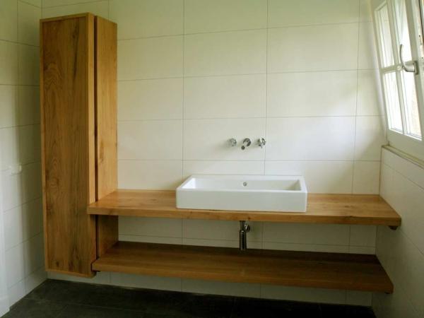 Badkamermeubel van Eiken