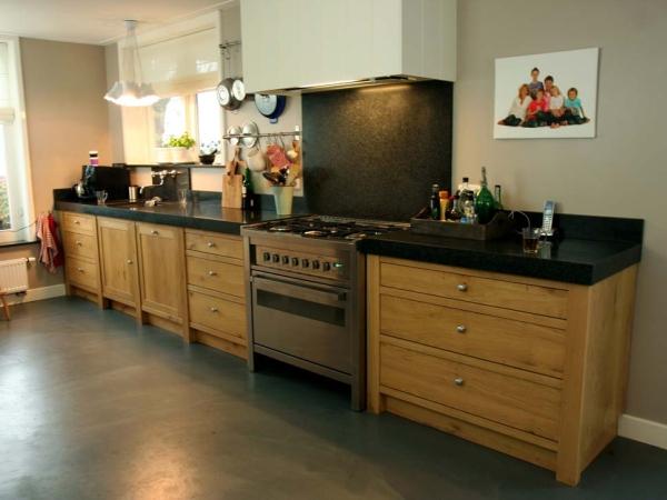 Massief Eiken keuken