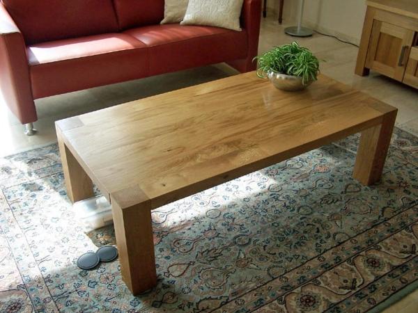 Eiken meubelset, salontafel