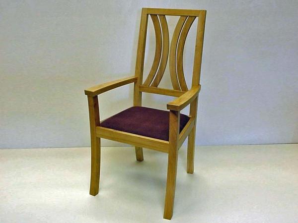 Set van 6 Eiken stoelen