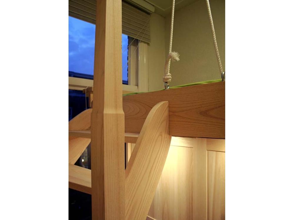 Inrichting slaapkamer met hoogslaper