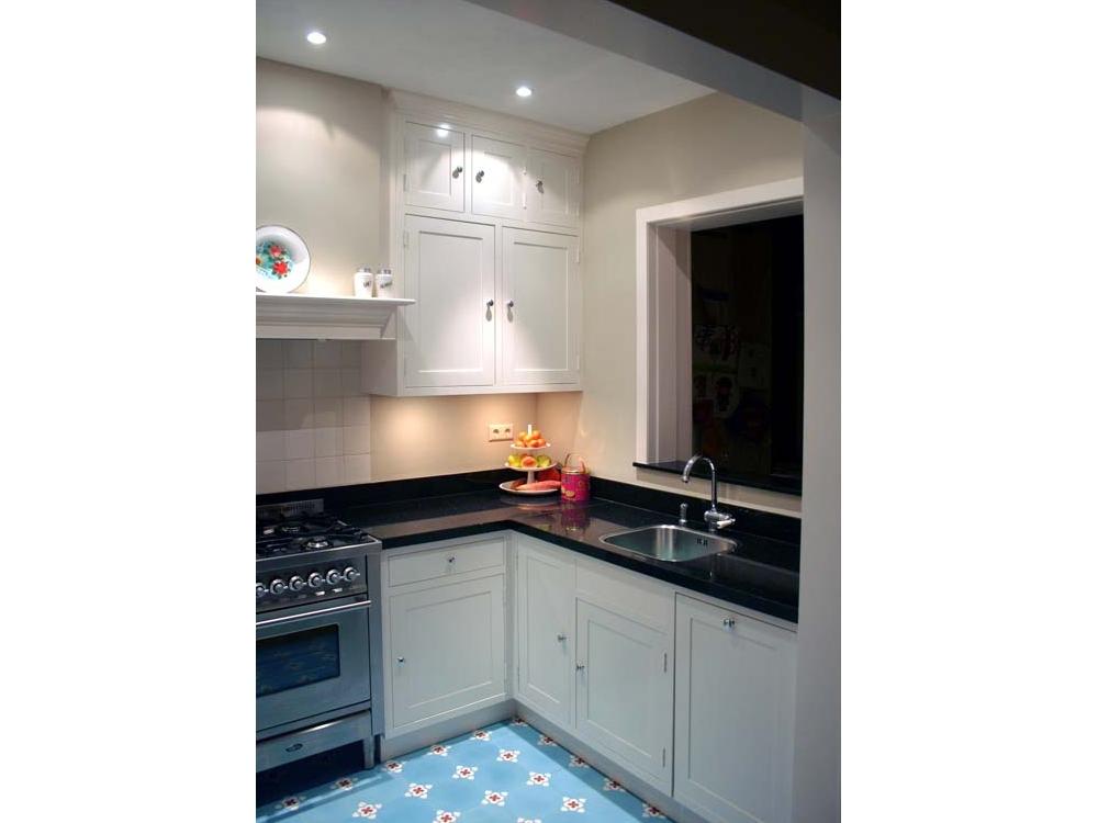 Keuken klein en praktisch