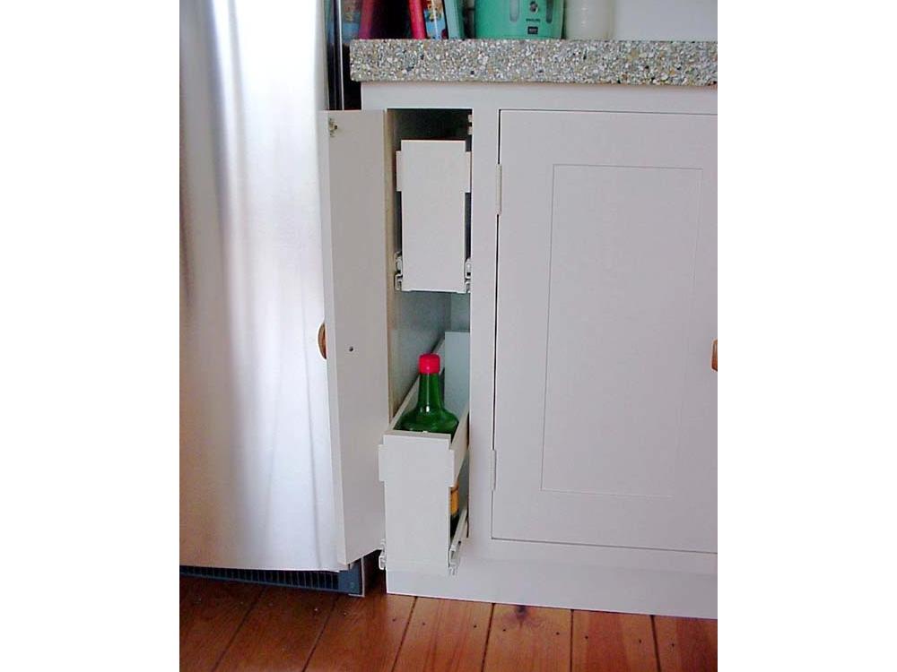 Keuken klein met granito blad