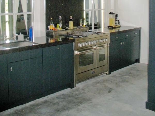 Op maat gemaakte keuken antracietgrijs