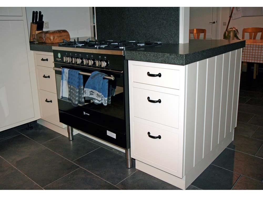 Keuken in kraalschroot uitvoering