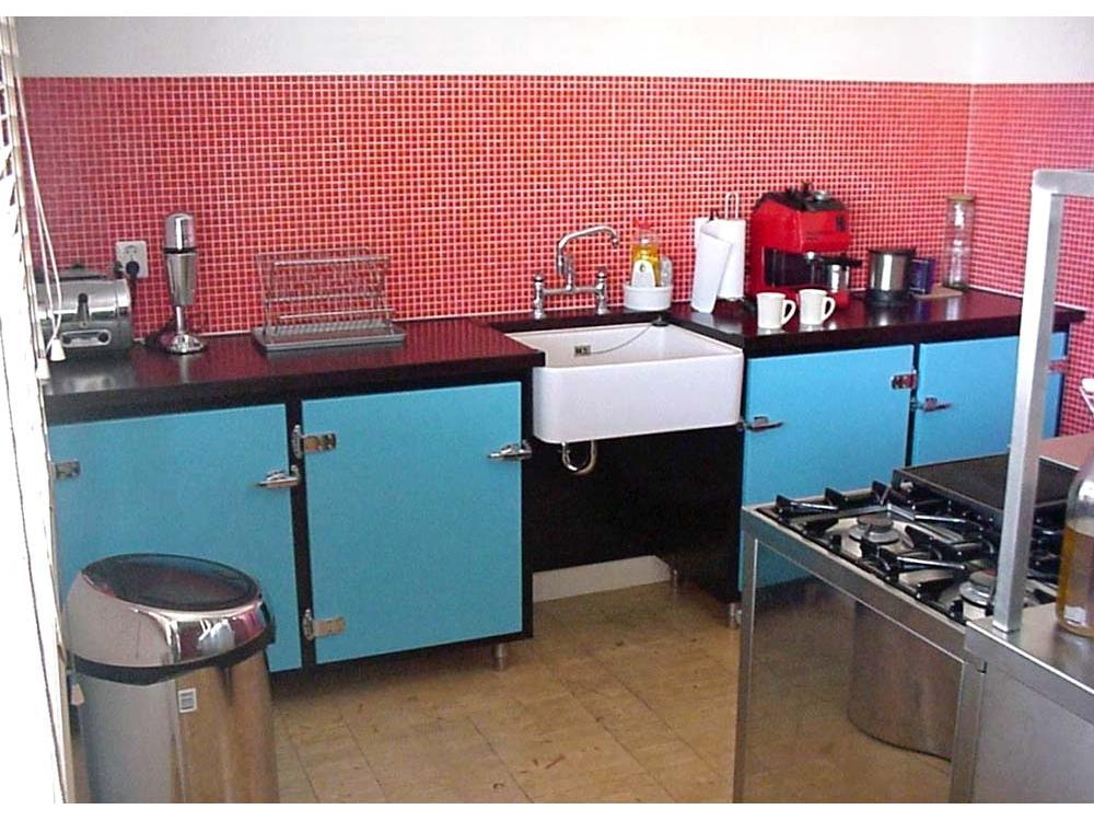 Keuken in Amerikaanse stijl
