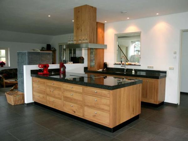 Keuken Eiken op maat gemaakt