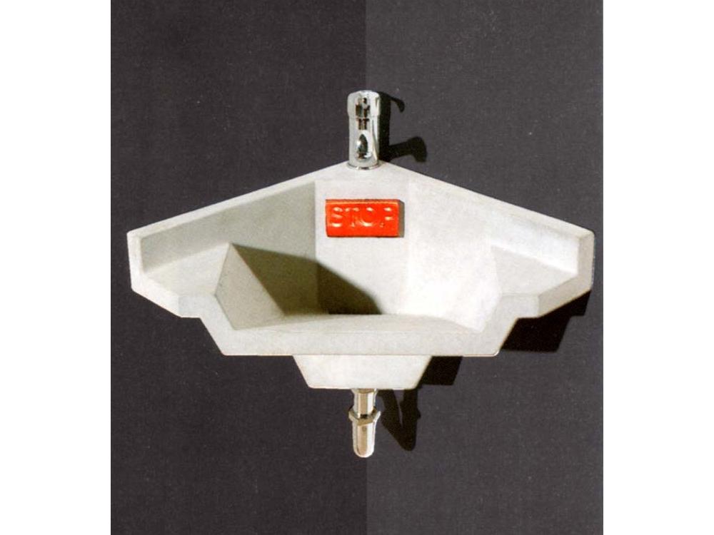 OZON betonnen wasbak Stop H