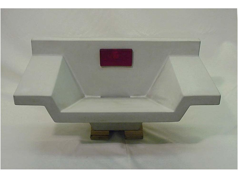 OZON betonnen wasbak Stop R