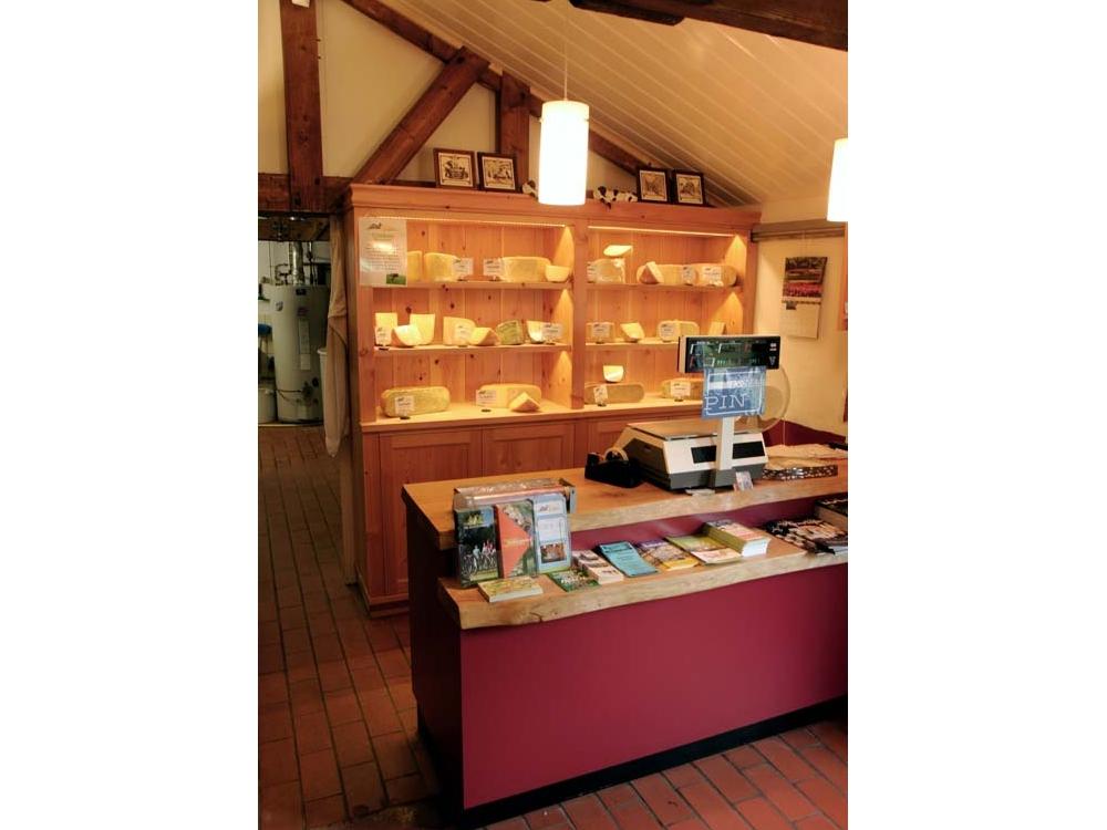 Winkelinrichting voor een kaasboerderij
